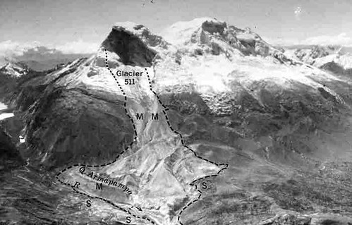 Resulting landslide