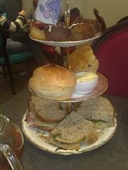 Afternoon tea at eteaket, Edinburgh