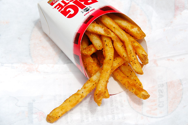 checkers fries, best fast food fries