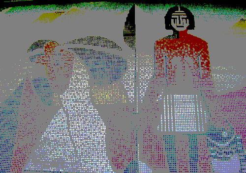 Chumash Mosaic Victoria Vons