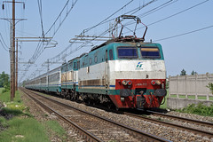 Trenitalia E444.112 (Maurizio Boi) Tags: railroad italy train rail railway locomotive treno trenitalia ferrovia locomotiva e444