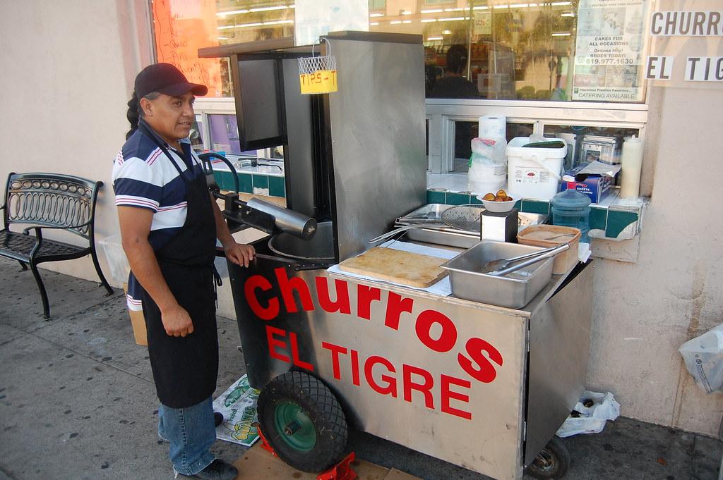 Churros El Tigre San Diego CA