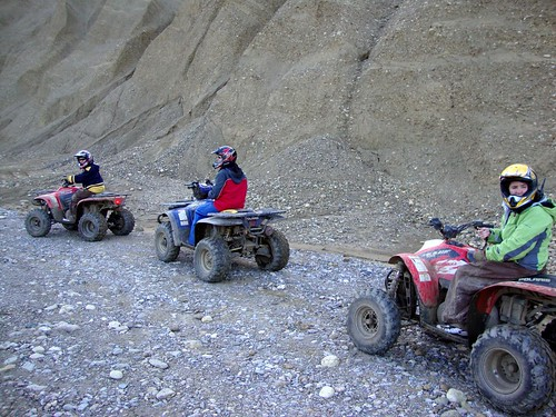 Alaska Denali Park June 2009  ATV ride at 10PM