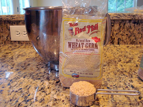 1/4 cup wheat germ