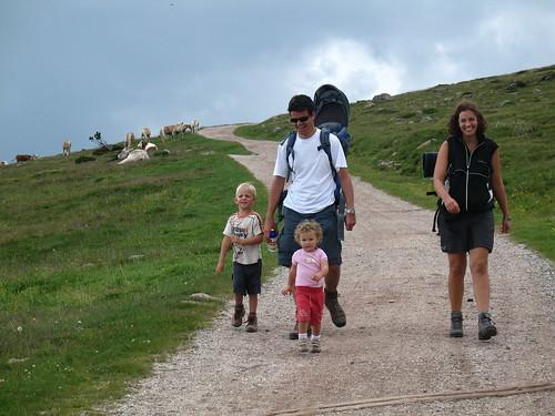 Ideales Wandergebiet auch für die Kleinen
