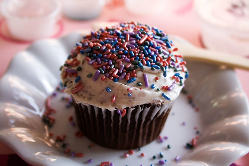 Chocolate Cupcake from Sprinkles Edible Art