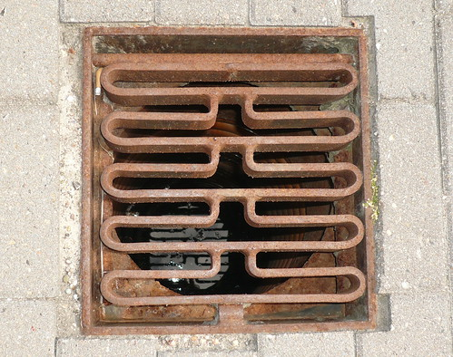 Even the drains have a design ethic in Copenhagen