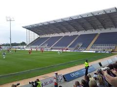 Falkirk Stadium - South Stand (tcbuzz) Tags: cup club scotland football europa stadium fc premier rangers league falkirk vaduz scottis