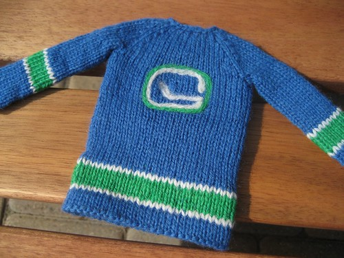 Mini Canucks jersey