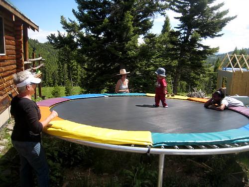 bouncing in Montana
