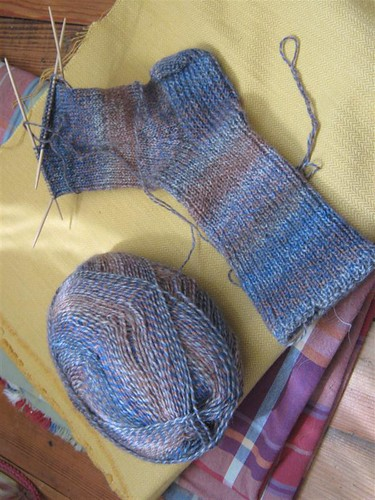 Travel Knitting 1
