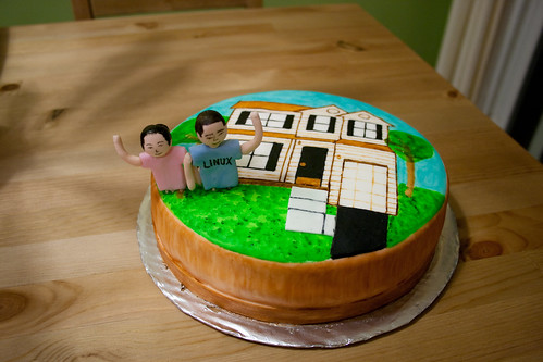 House Warming Cake by Dina