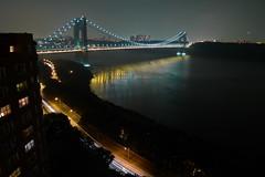 George Washington Bridge 2009 (happyrobot) Tags: bridge georgewashingtonbridge washingtonheights