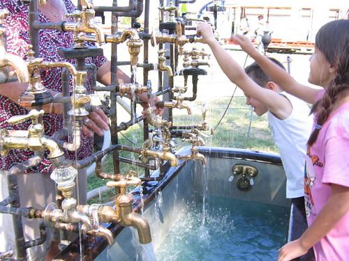 Cool Faucet Display!