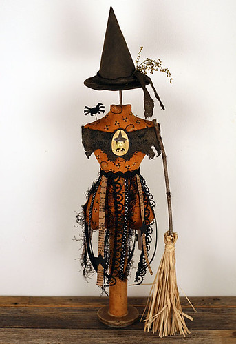 Primitive Witch Mannequin Make-do