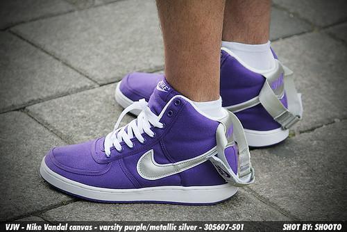 d1feb9f78fb93f WDYWT vjw - Nike Vandal Canvas Varsity Purple - a photo on Flickriver