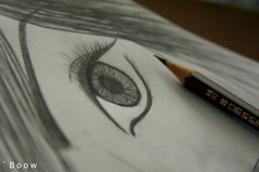 ., (` B o o w) Tags: eye n  drowing