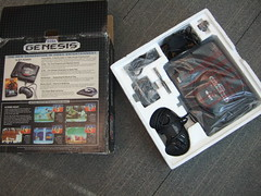 Sega Genesis - original packaging, hot