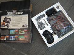Sega Genesis - original packaging, hot