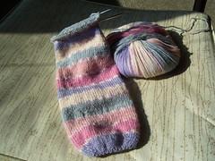 Sock one