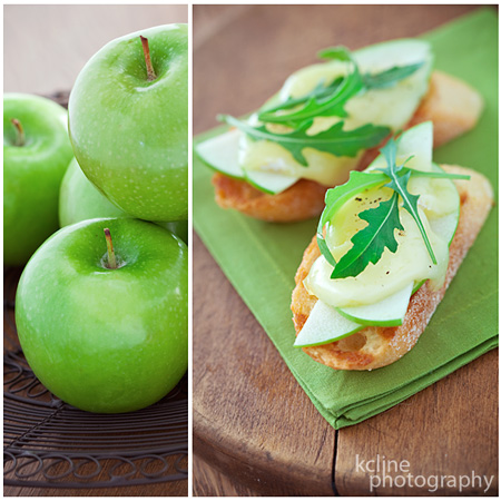 Brie & Apple Melts