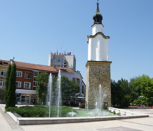 The old tower in Botevgrad