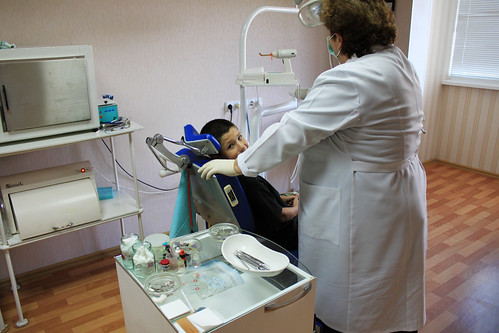 Halyna, the Gentle Dentist