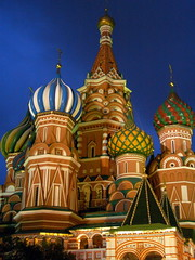 St. Basil's Cathedral (Musical Mint) Tags: church architecture twilight cathedral russia moscow awesome redsquare stbasilscathedral musicalmint
