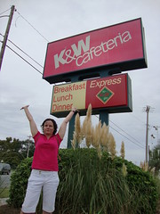 As per my parents request, here's a picture of the K&W sign
