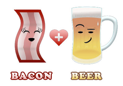 beer+bacon