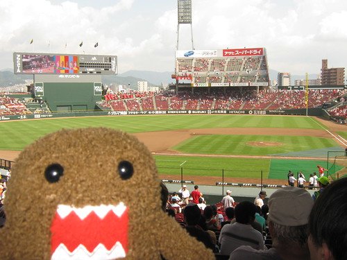 Domo-kun loves the Carp too!