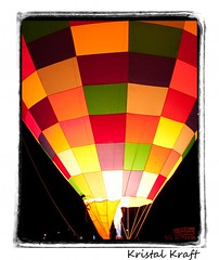 Compatable Enemies (Kristal Kraft ~ DenverDwellings) Tags: fire hotairballoon nightglow coloradospringsballoonclassic