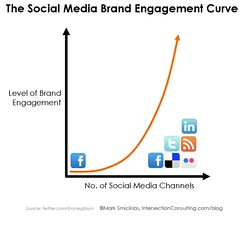 Social Media Brand Engagement Curve