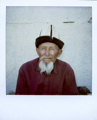 Old man with Kalpak, Kyrgyzstan (Eric Lafforgue) Tags: portrait people face hat beard polaroid asia oldman human asie kyrgyz kyrgyzstan barbe gens visage kirghizistan kirgistan kalpak lafforgue kirghizstan kirgisistan     kyrgyze humainpersonne quirguizisto