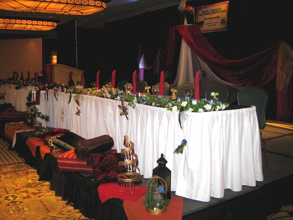 Head Table - Banquet - NADWCon