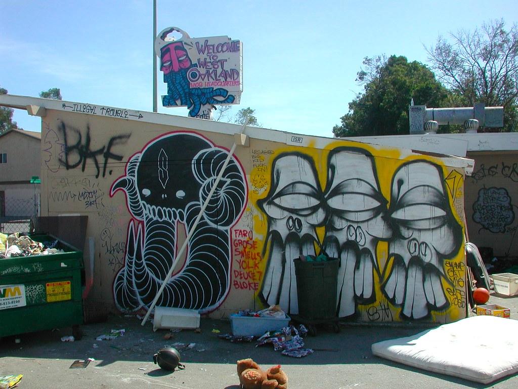 Gats, SwampDonkey, Sate - West Oakland, CA