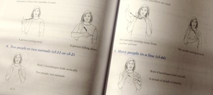 ASL-Buch Gebärdensprache