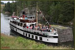 MS Victoria (rariflora) Tags: voyage nature norway boat norge victoria journey bateau telemark bt vann reise norvge anawesomeshot vrangfoss kunstplatzlinternational