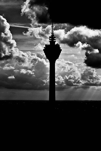 KL Tower, late afternoon