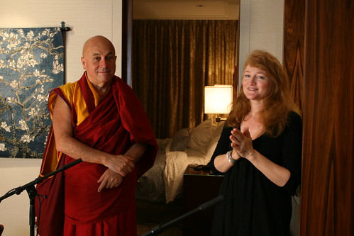 Matthieu Ricard and Krista Tippett Post-Interview