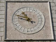 Croatia - Krk (Town) (Been Around) Tags: clock gate europe croatia oldtown 2009 uhr hrvatska krk kroatien stadttor kvarner 5photosaday ancientclock concordians worldtrekker visipix