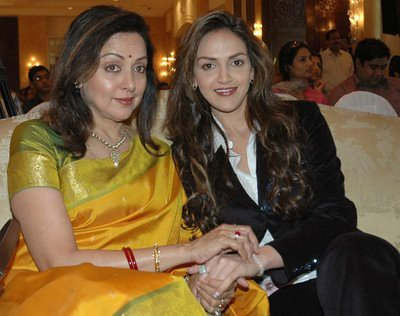Hema Malini and Esha Deol photo