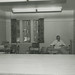 Robert Benson in the Department of Residence Offices in Friley Hall, 1958