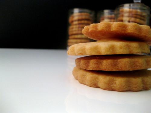 337 Greenwich: Cookie Jars :: Lemon Zest Shortbread