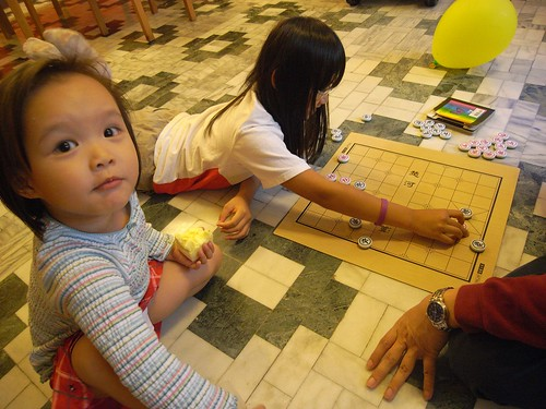 katharine娃娃 拍攝的 3下棋。
