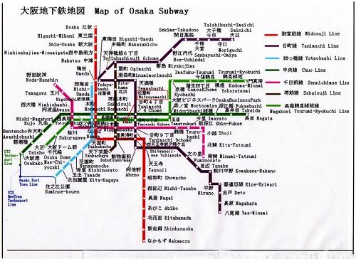 大阪地鐵圖001