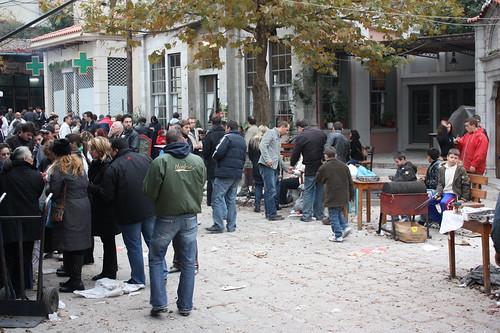 Agiasos square