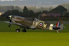 G-PMNF - TA805 - CBAF.10372 - Private - Supermarine 361 Spitfire HF9E - Duxford - 060903 - Steven Gray - CRW_6472