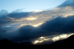 storm clouds (fitzdei) Tags: sunrise scotland hill cloudscapes