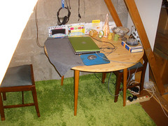 Attic & my new IKEA rug